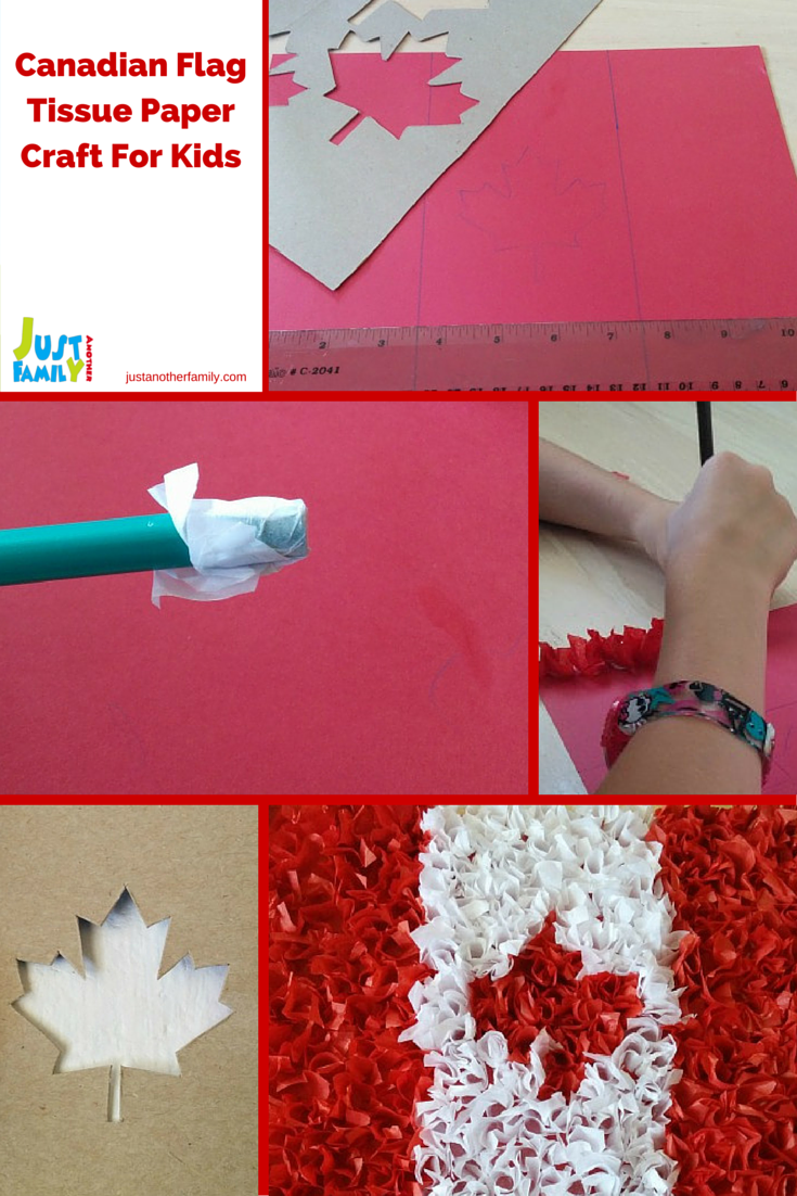 in honour of canada day this is a fun and easy to do craft using