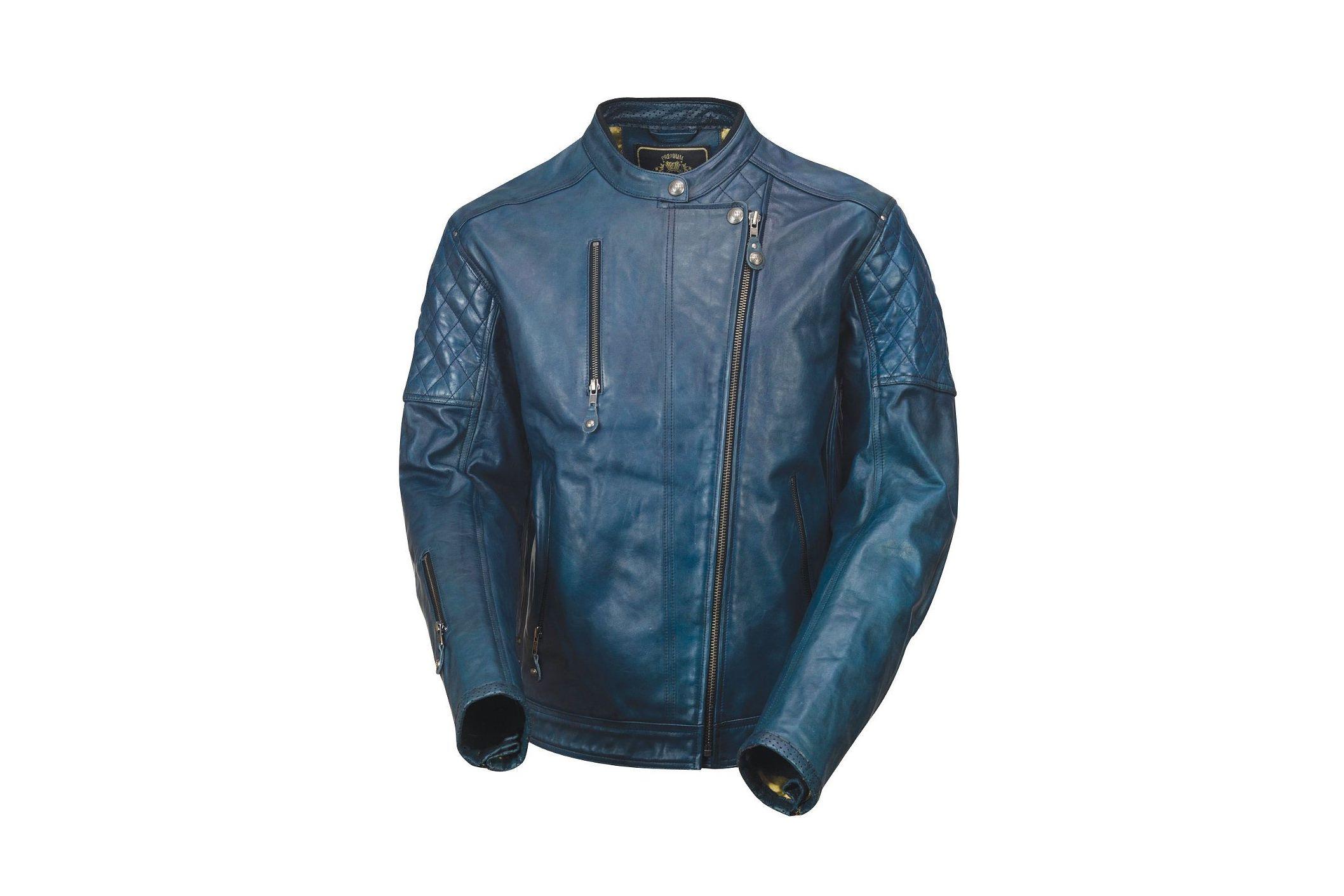 Roland Sands Clash Blue Steel Le Jacket Leather Jackets Women Leather Jacket Motorcycle Jacket Mens [ 1411 x 2116 Pixel ]
