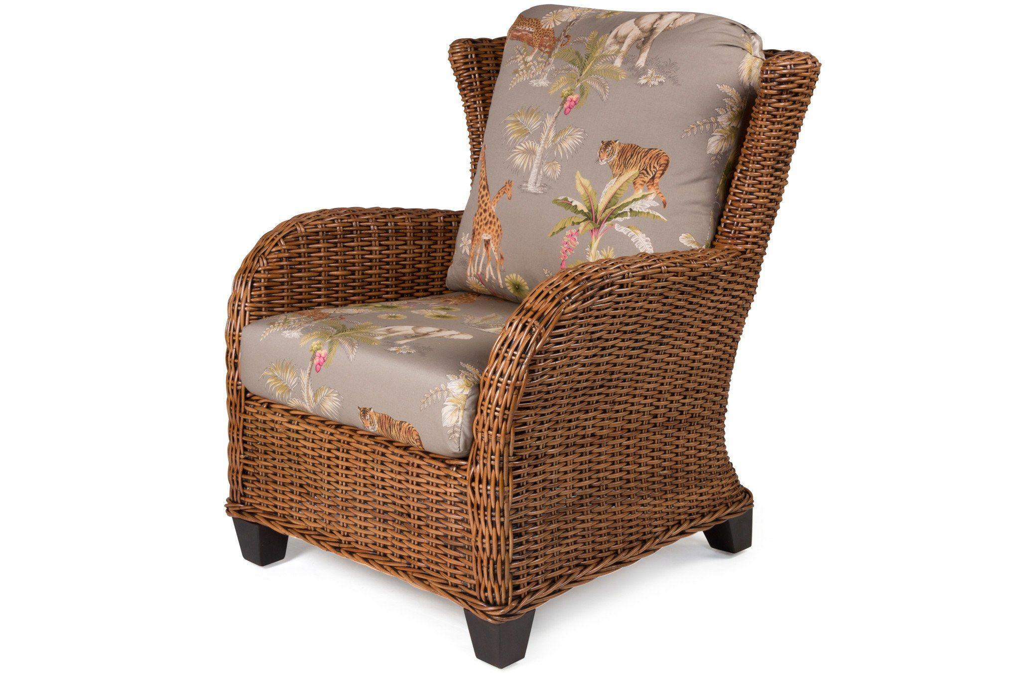 Clarissa Porch Arm Chair Wicker dining set, Rattan