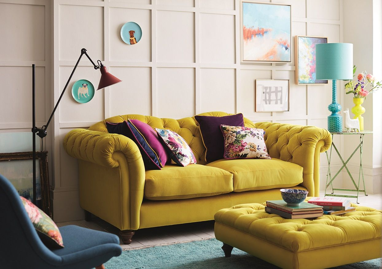 Sofa Sofas Wales Mid Century Toronto The Windsor Is Joules 39 Take On Classic Chesterfield