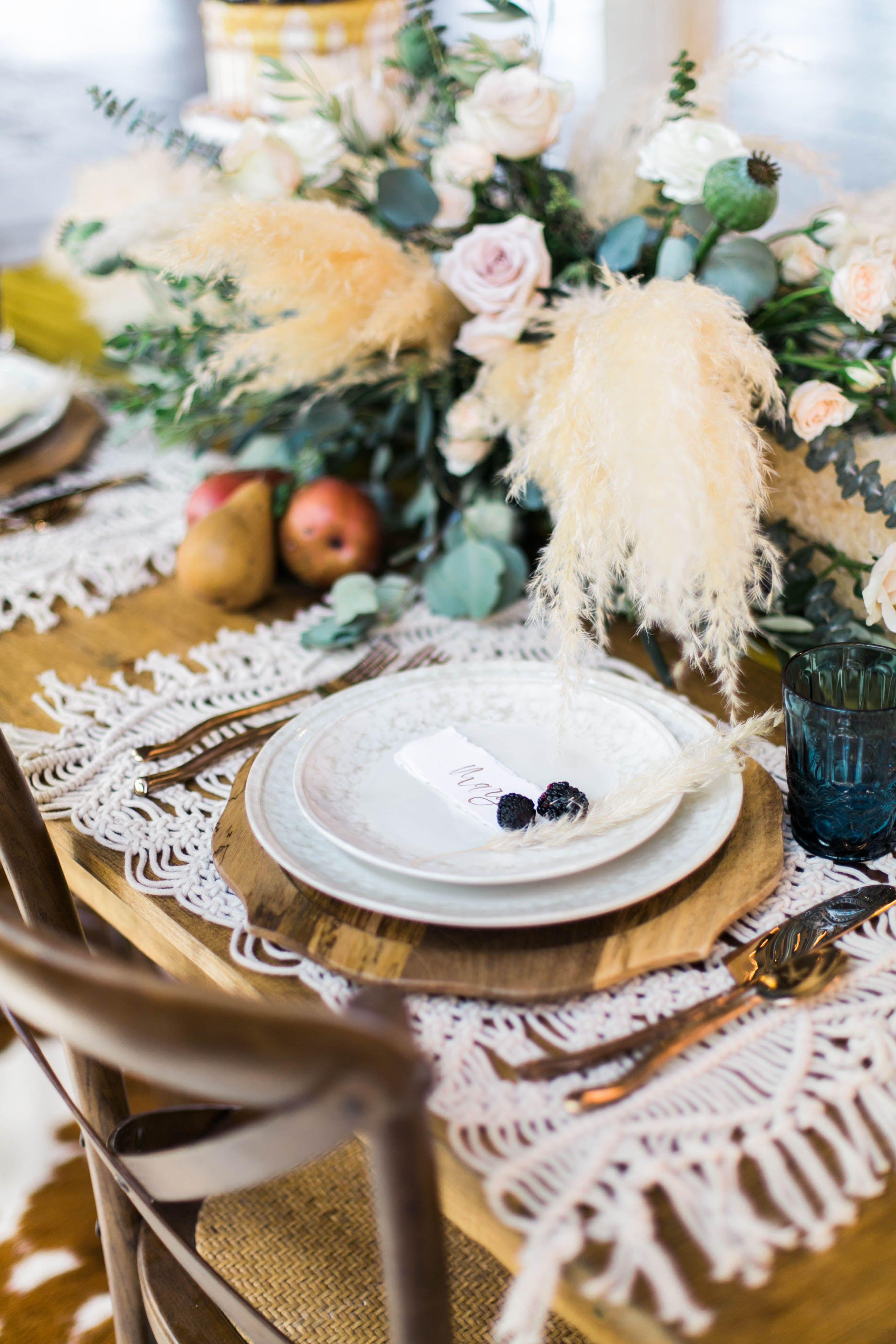 Boho Table Setting, World Market