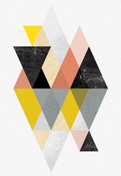 Scandinavian Art Prints Buy Or Make Your Own Geometric Art