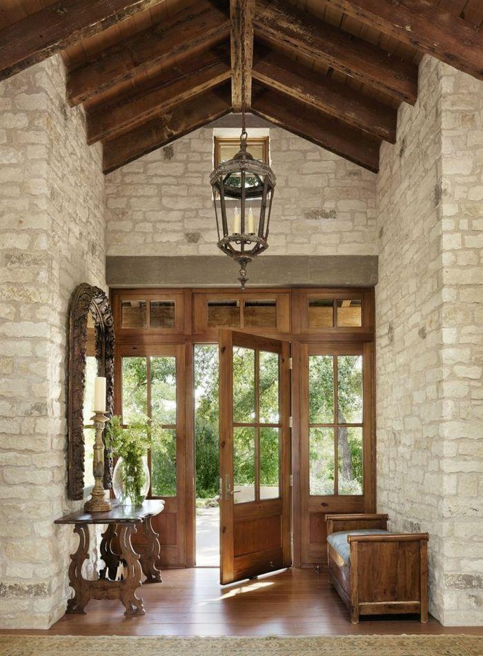 Haustüren Aus Holz   Interessantes Design Im Landhausstil