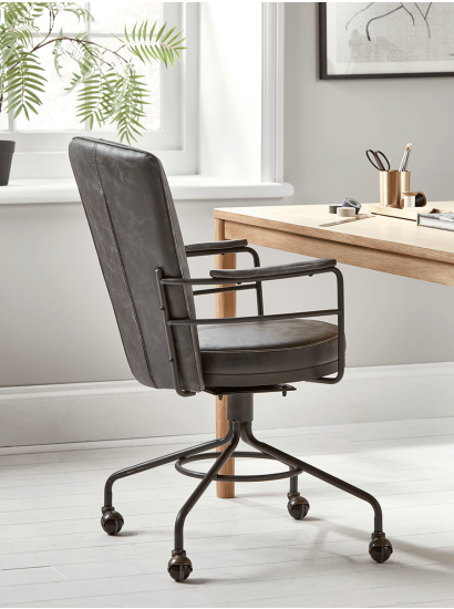 New Industrial Style Office Chair In 2019 Furniture Industrial