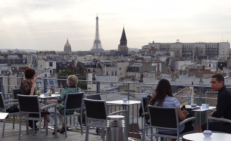 43 Up The Roof   Rooftop Bar At Holiday Inn Notre Dame   Make Reservations  In