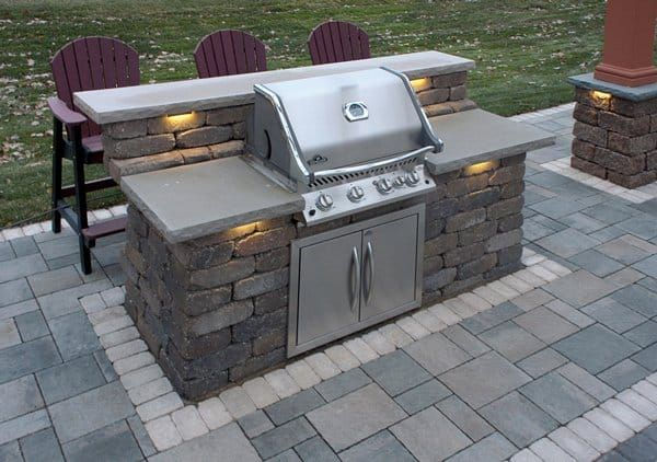 20 Outdoor Grill Designs And What To Look For When Buying Modern Home Outdoor Grill Island Outdoor Kitchen Grill Outdoor Kitchen Design