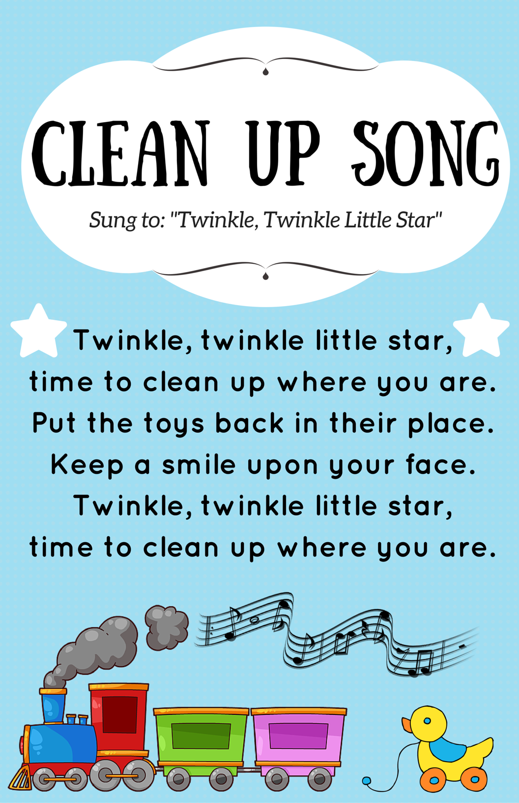 Cleanup Song Wonderfu
