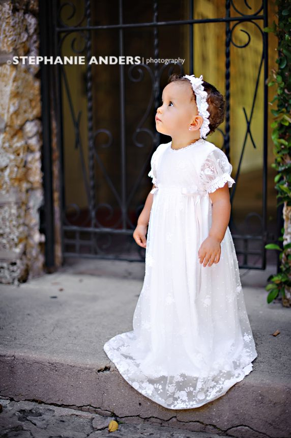 stephanie anders photography / wearing Melissa Christening Gown by ...