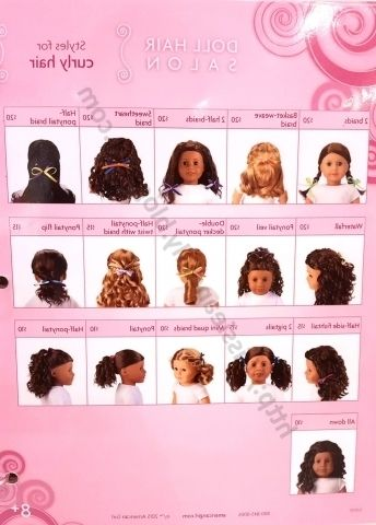 Hairstyles For Curly American Girl Doll Hair Americangirlfan