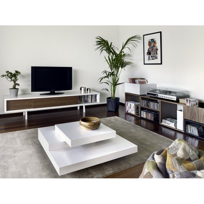 table basse design blanche symtrie prix soldes atylia 36050 ttc au lieu de 515
