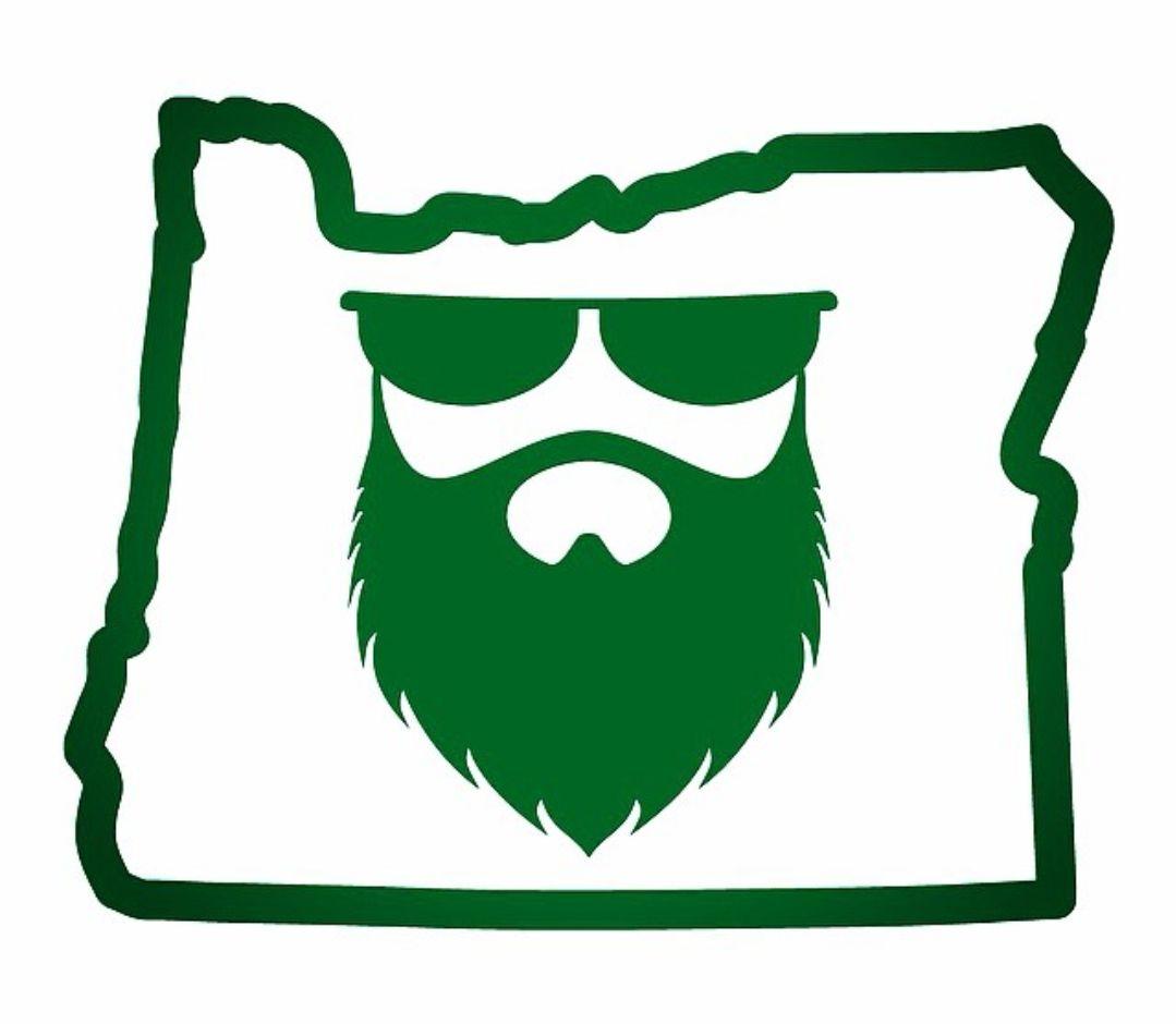 Oregon Beard Loving Woman.