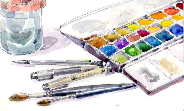 Tools of the trade - Shari Blaukopf