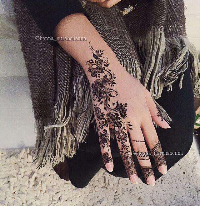 Arabian Henna حنايه On Instagram Nurahshenna Henna Inspired Tattoos Henna Henna Designs