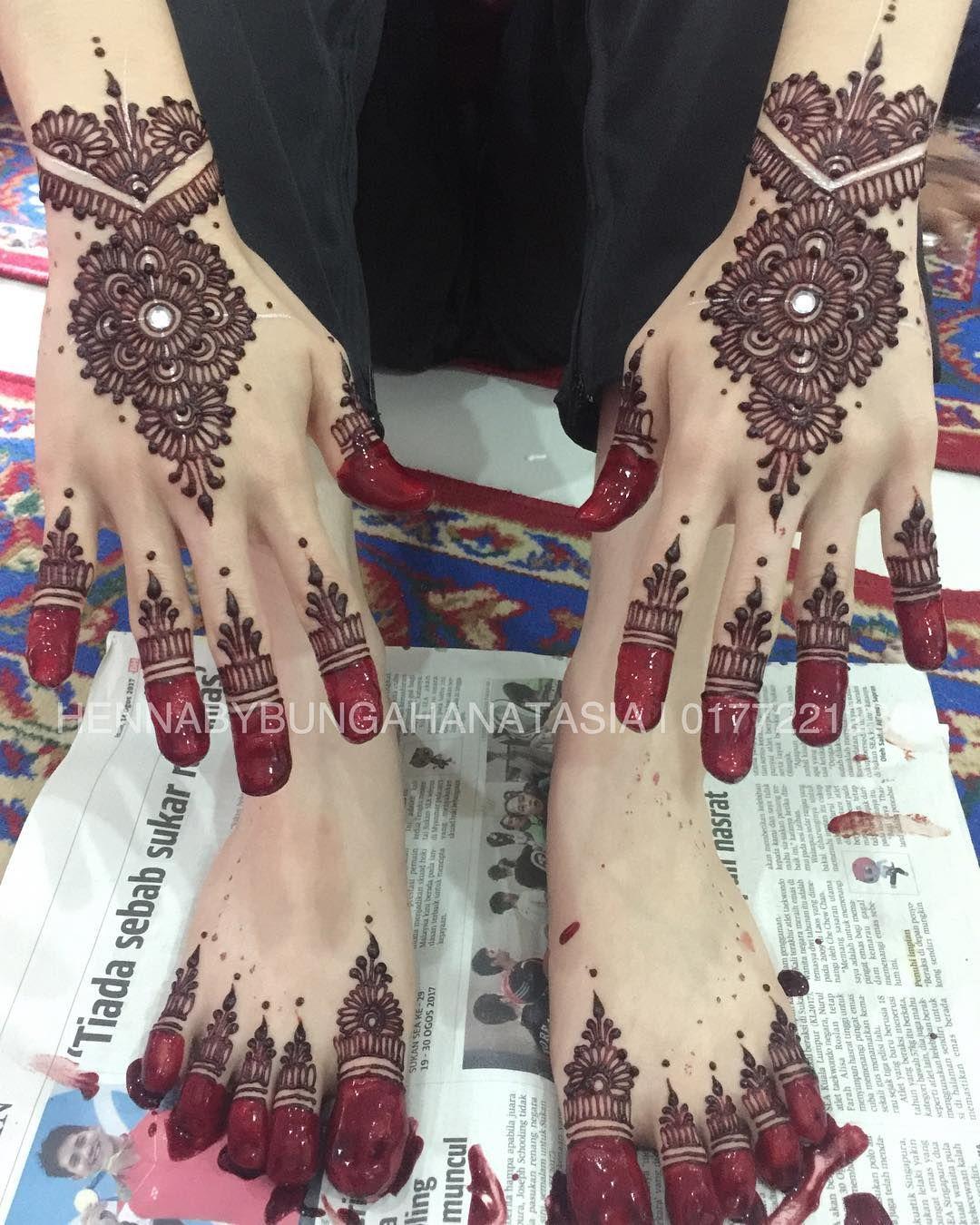Henna Wedding Update Hanim Gelang Patah Selamat Pengantin