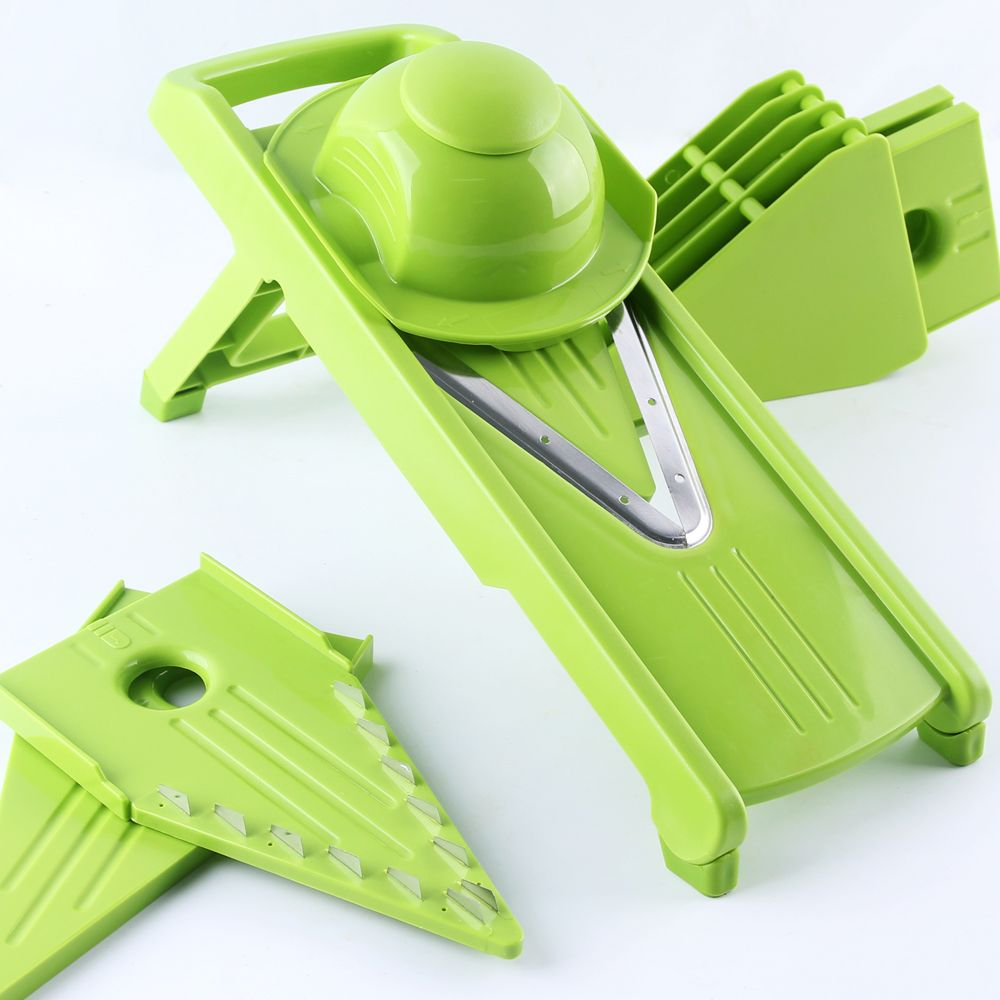 Mandoline Slicer Vegetable Grater Fruit Cutter 5 ...