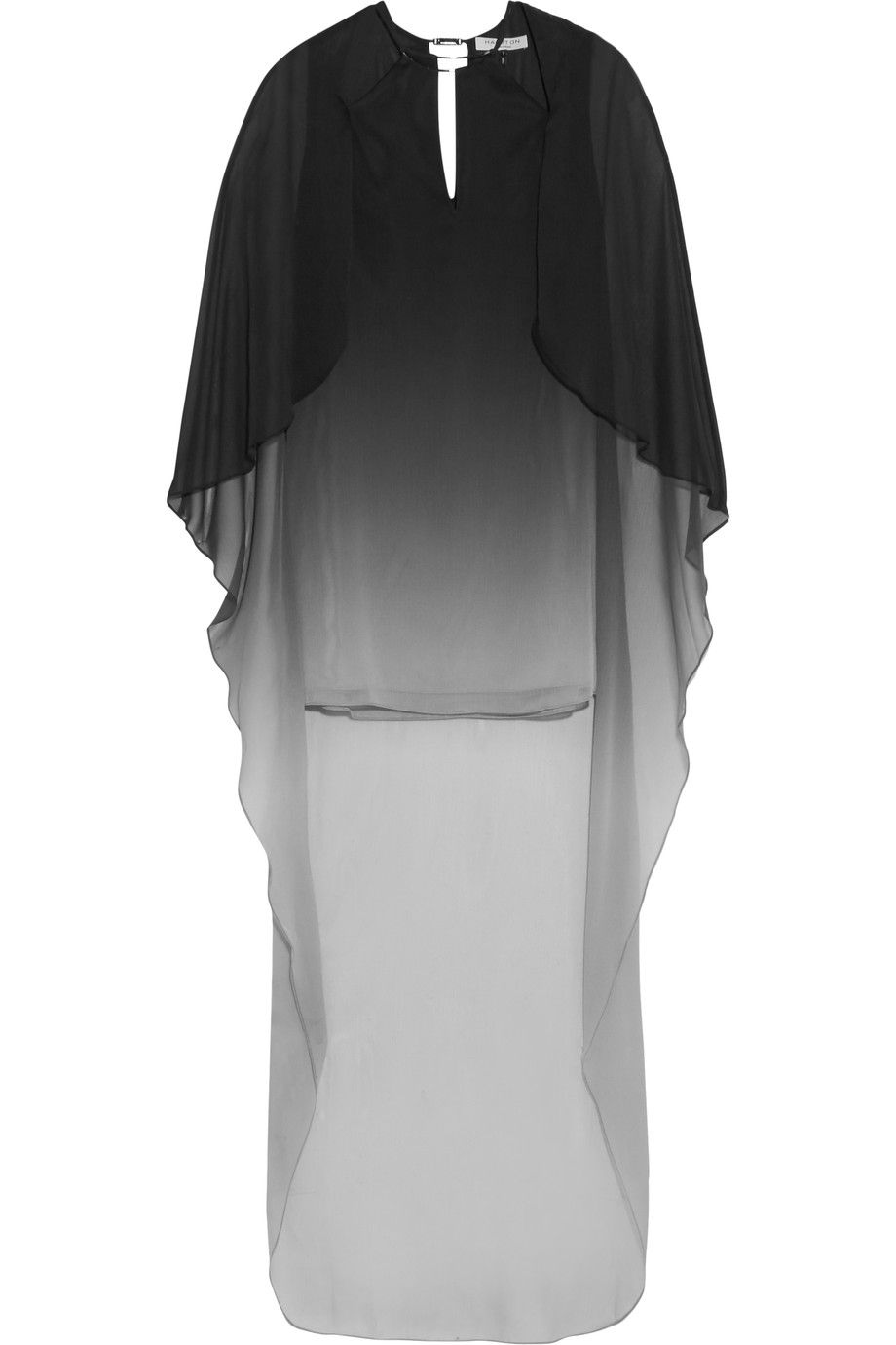 HALSTON HERITAGE Ombré crinkled-chiffon mini dress. #halstonheritage #cloth #dress