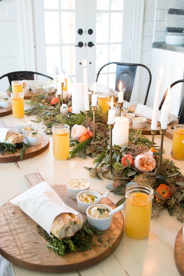 A Winter Dinner Party Themenabende Das Perfekte Dinner - Dinner Ideen