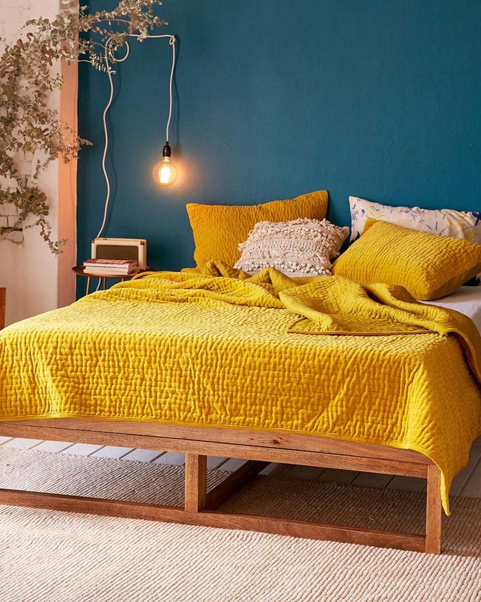 Comment utiliser le jaune dans sa déco ?   Bed room and Room