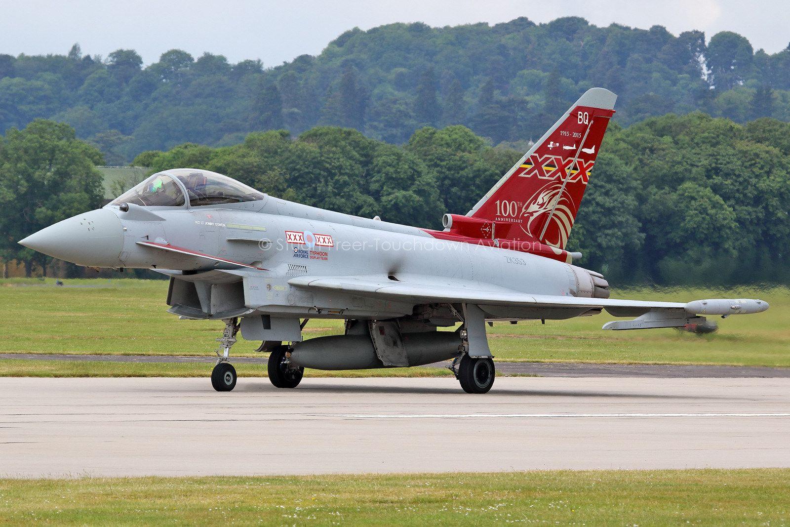 ZK353\BQ Typhoon FGR4 29(R) Squadron, RAF Coningsby