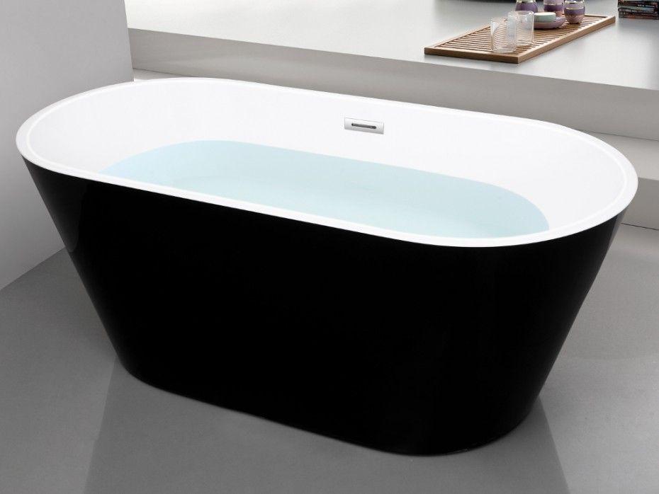Wc Net Vasca Da Bagno : Vasca da bagno centro stanza design twiggy  cm nera