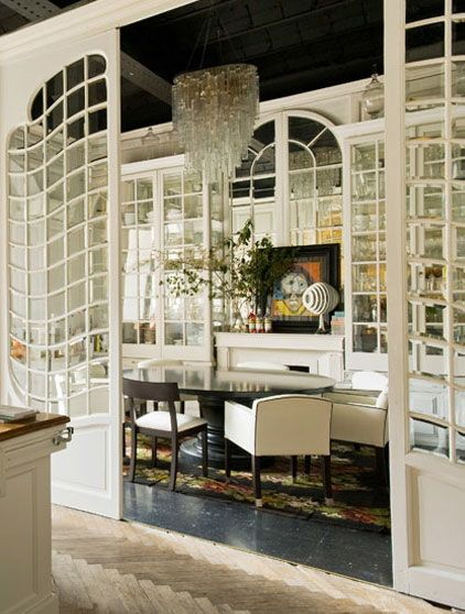 love chandelier and those drawing room glass doors