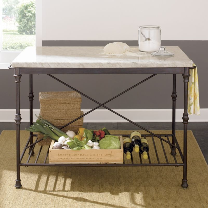 french kitchen island crate and barrel blake tovin nails the french country pastry table