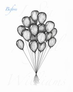How To Draw A Bouquet Of Balloons Google Search Club Book
