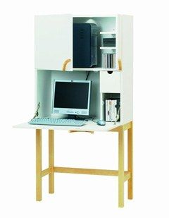 Bureau Cyril Ikea Objets Deco A Double Fonction Home Office Small Space Simple Furniture Shared Home Office