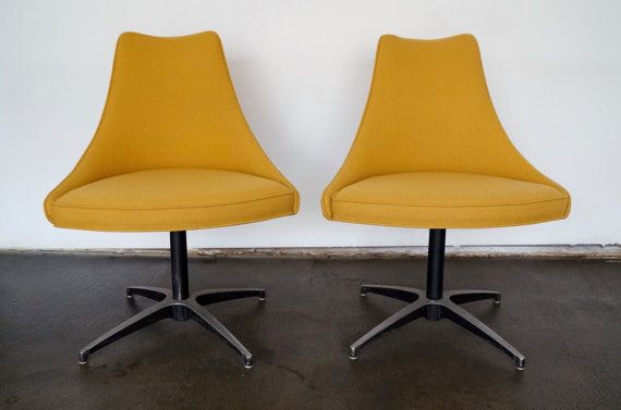 $950 for 2 Gorgeous Pair of 1960's Mid-Century Modern Side by CyclicFurniture