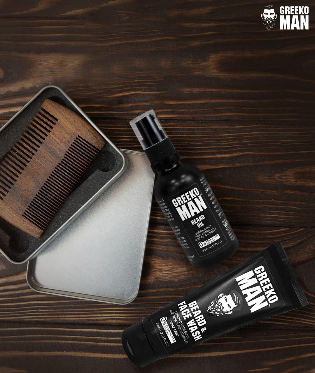 Make Your Beard Healthy & Stylish  #BeardKing #GreekoMan #MensGrooming #beard #BeardCare #beards #beardstyle #beardgang #beardlife #beardedmen #style #beardman #beardlove