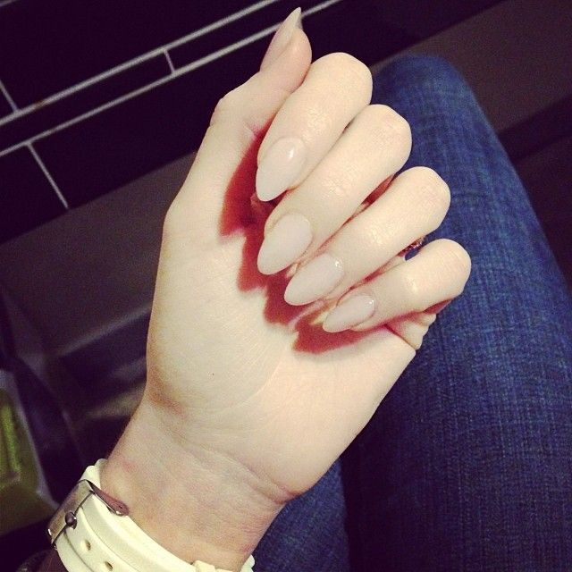 Almond Nails 2014 on Pinterest | Almond Nails Pink, Almond Nail Art ...