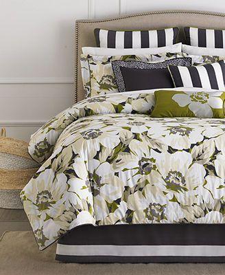 Martha Stewart Collection Sunshine Poppy 3 Piece Decorative Pillow