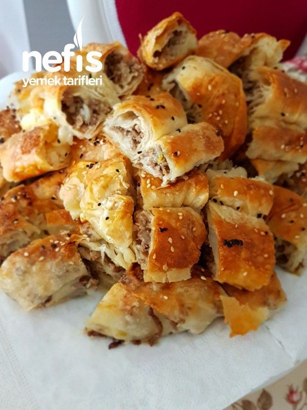 Mince Puff Pastry with Cheese -  Nature Blog -