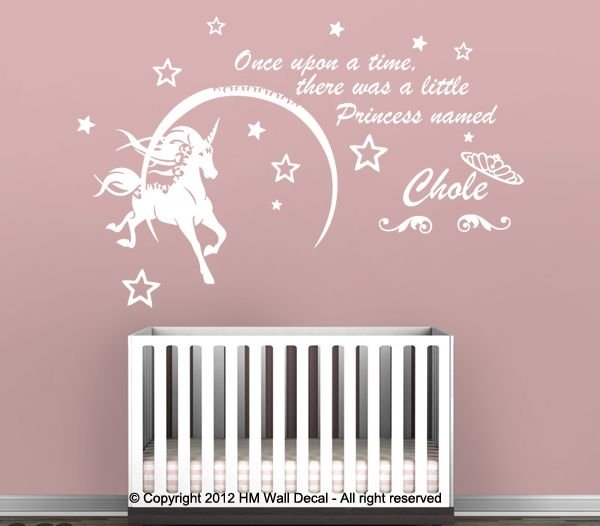 Image Result For Unicorn Nursery Baby Pinterest Kids Wall - Nursery wall decals australia