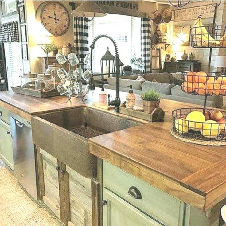 2019 best farmhouse kitchen countertops design ideas and decor countertops decor design on farmhouse kitchen valance ideas id=41026