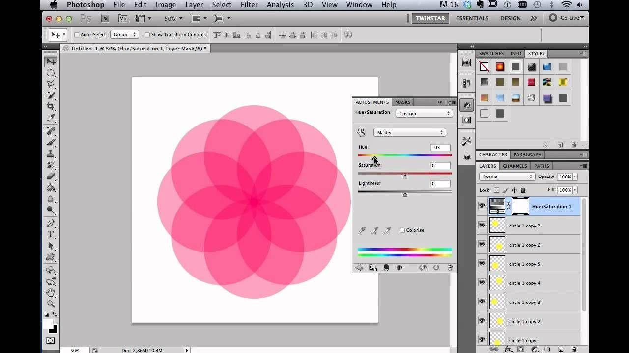 Flower power photoshop cs5 tutorial photoshop pinterest flower power photoshop cs5 tutorial baditri Images