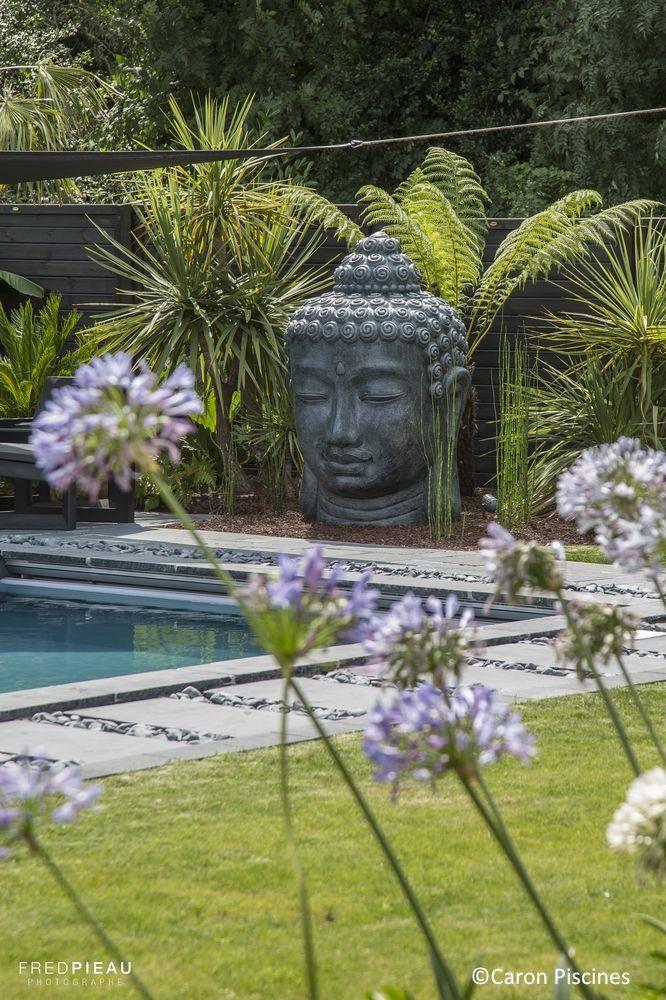bouddha #decoration #piscine #Caron #jardin #ambiance | piscine ...