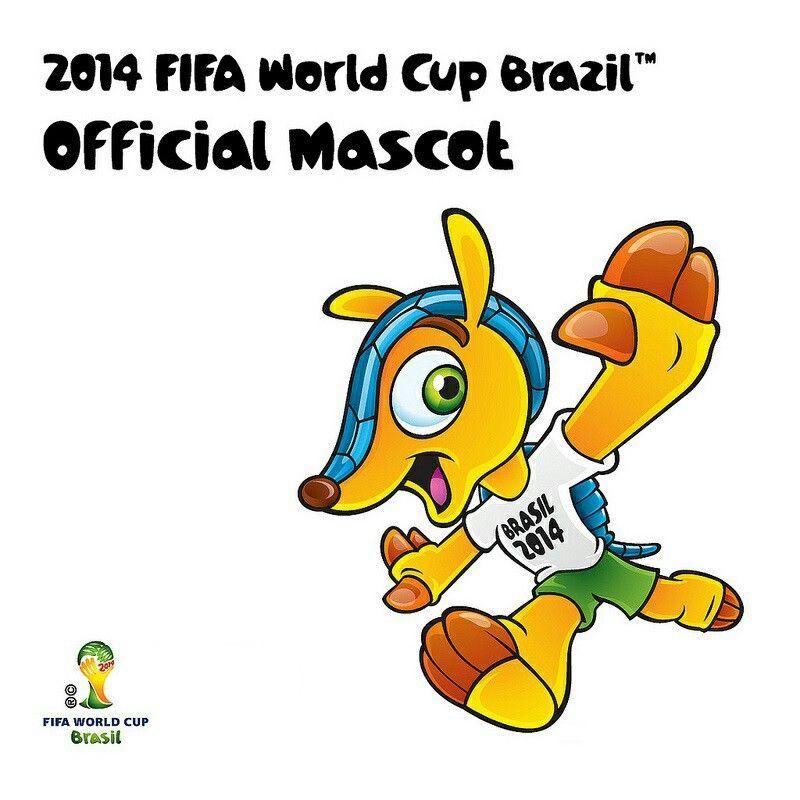 Fuleco World Cup 2014 Mascot Fuleco Brasil