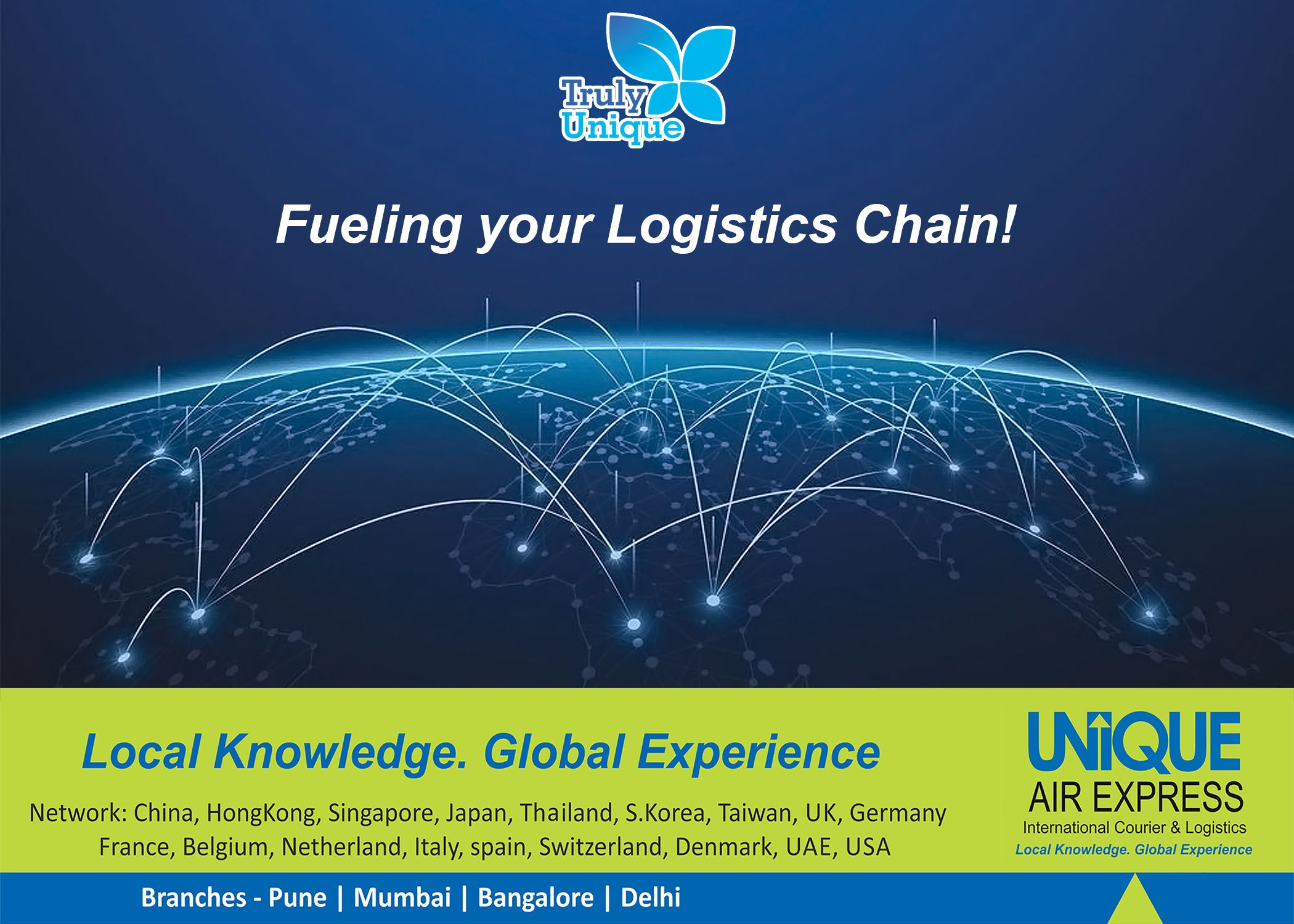 No worries for your #Import & #Export #Shipment Across the