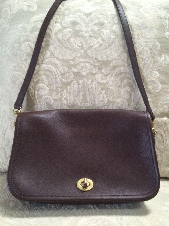 Coach Cross Body Bag Coach Shoulder Bag Coach by VintageSignora ... 0306dd911ef8c