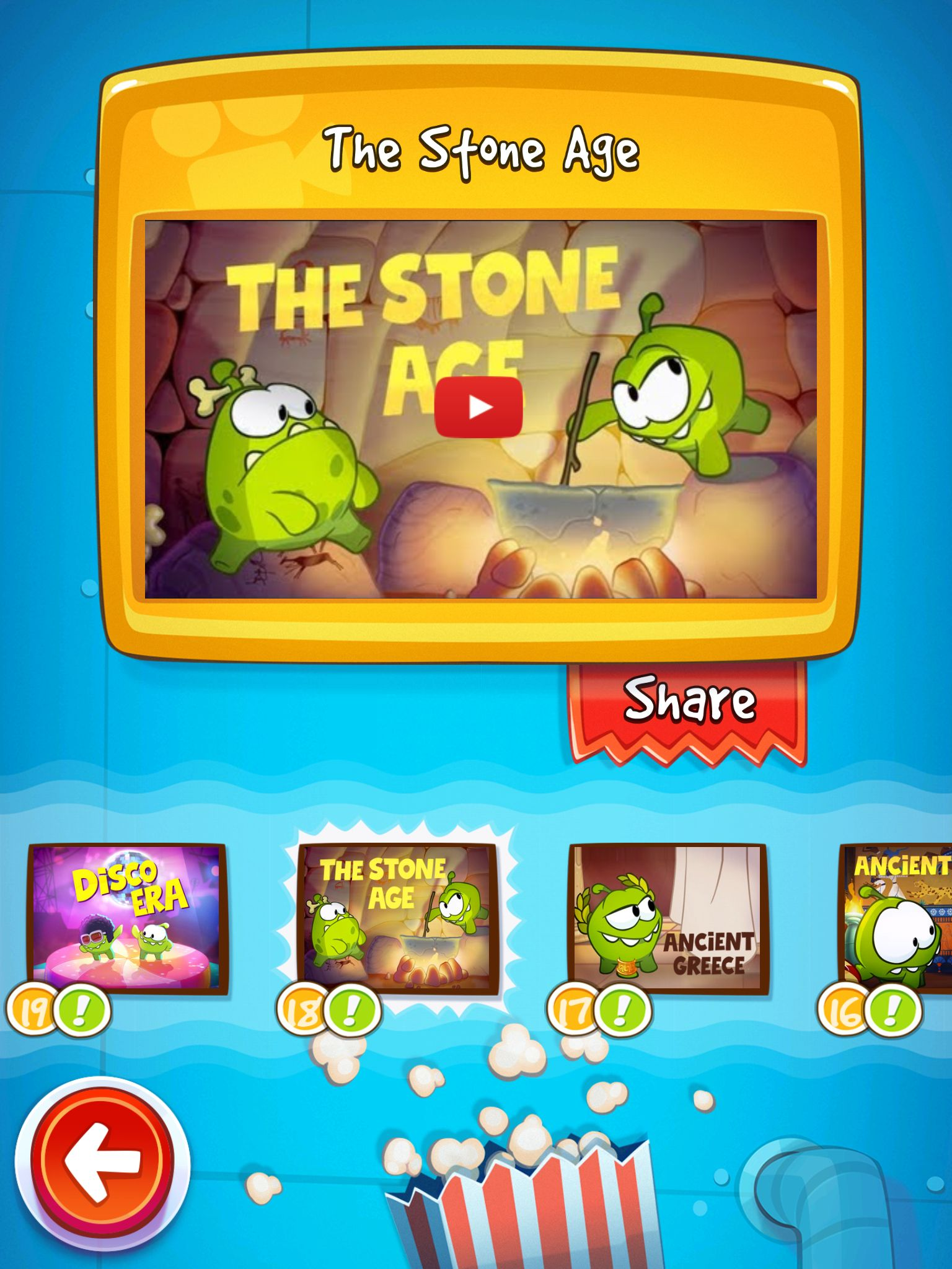 Cut The Rope Videos Games, Game ui design, Game design