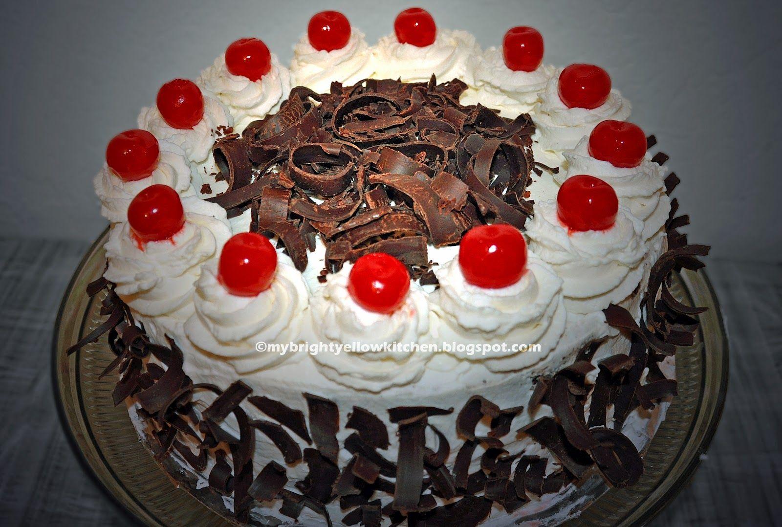 Cake red ribbon recipe