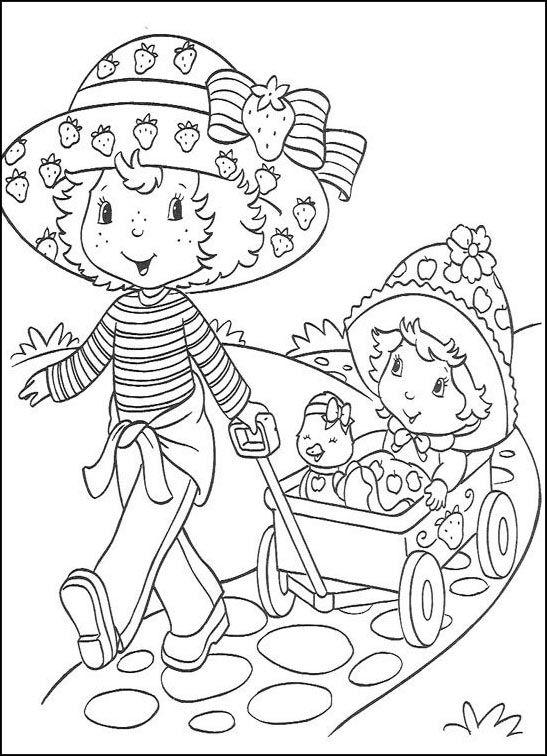 disegni da colorare fragolina dolcecuore 9  disegni da