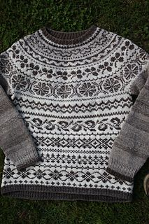 Ravelry: Seamless Yoke Pullover-Adult pattern by Ann Budd