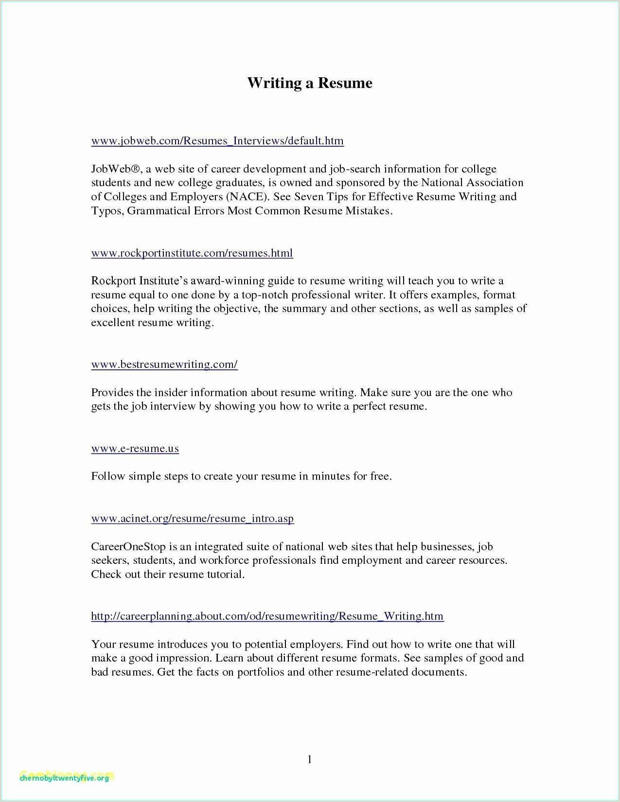 What to include in your Graduate Nurse Resume