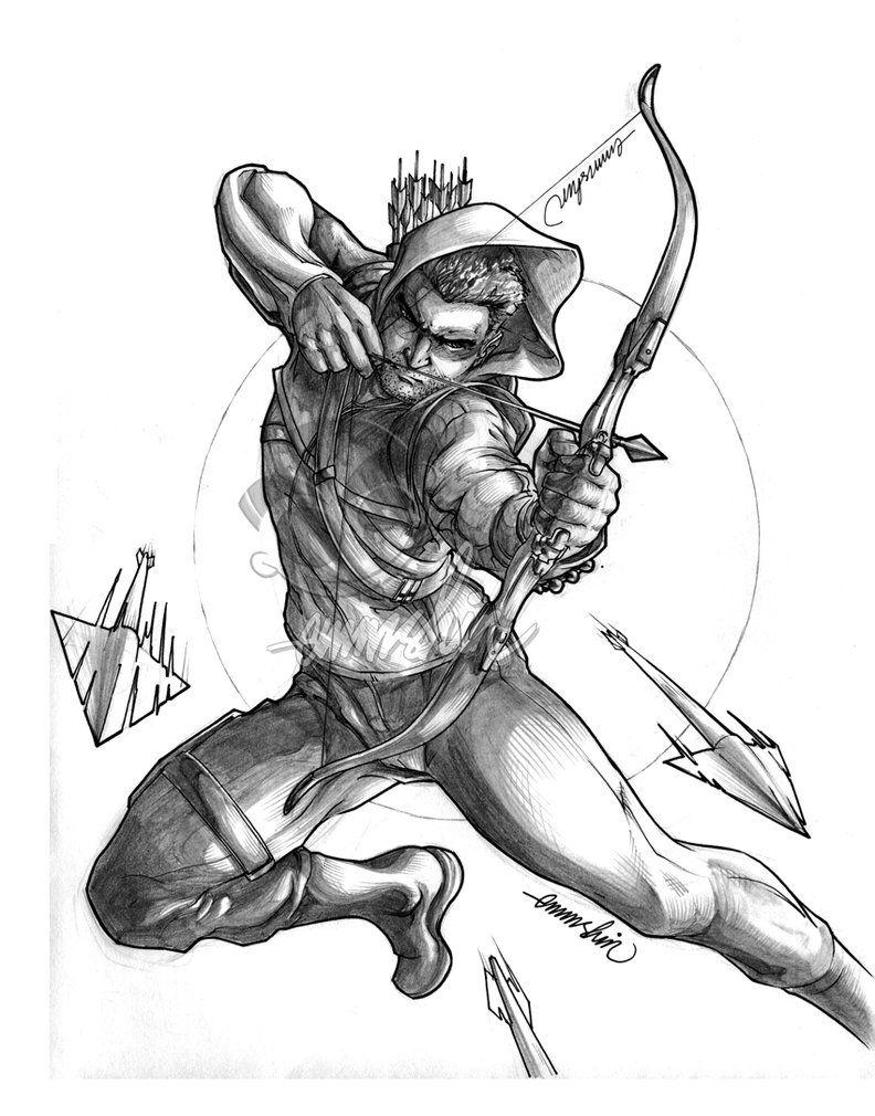 Arrow lineart by emmshin