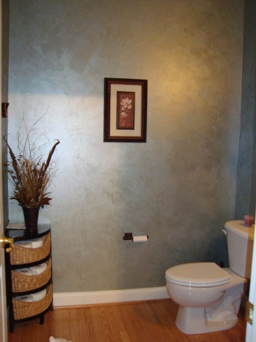 Elegant powder room  fell in love with this color its brushed pearl  haze by valspar bathrooms design also ralph lauren metallic wall paint google search home ides rh pinterest