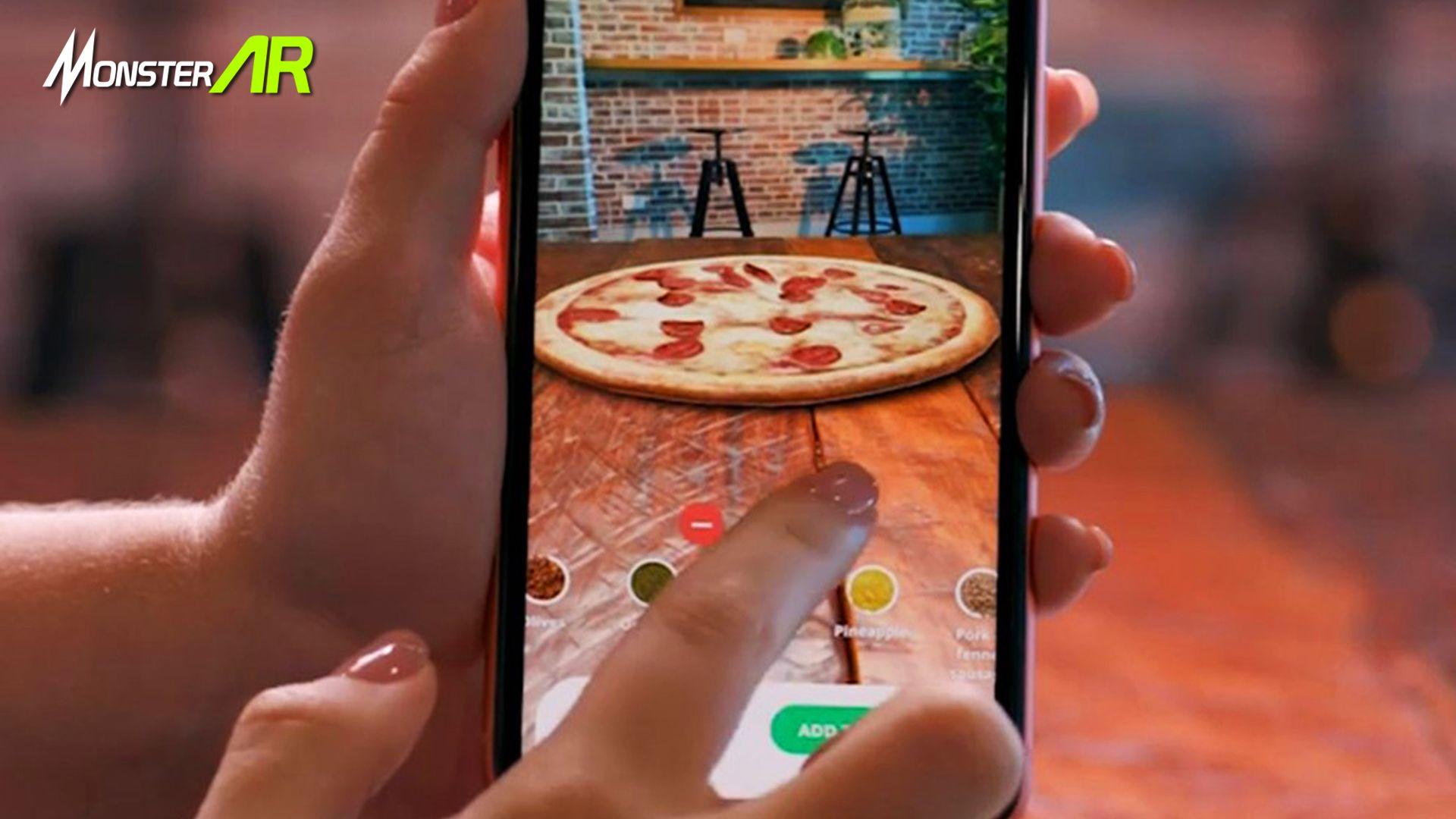 Domino Pizza Telah Merilis Aplikasi Terbarunya Pizza Chef Dengan Teknologi Augmented Reality Apa Saja Fitur Dari Aplikasi Ini Ya Pizza Multimedia Aplikasi