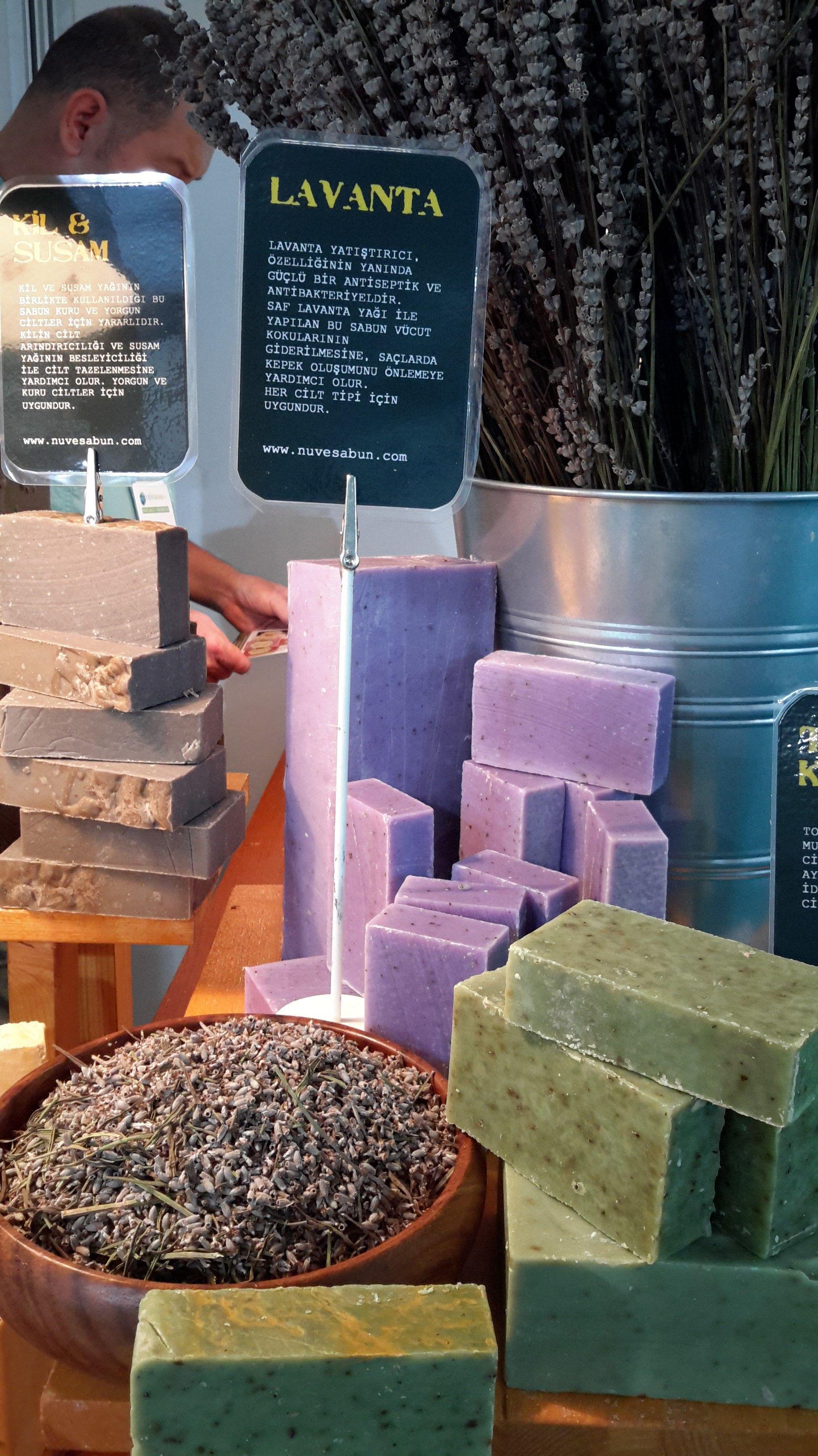 Nve Zeytinyal Lavanta Sabunu Lavender Soap Sabun Rose Herbal