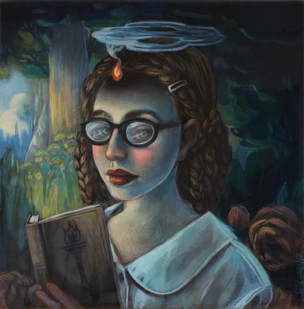 Kim Kaos On Art Painting Illustration